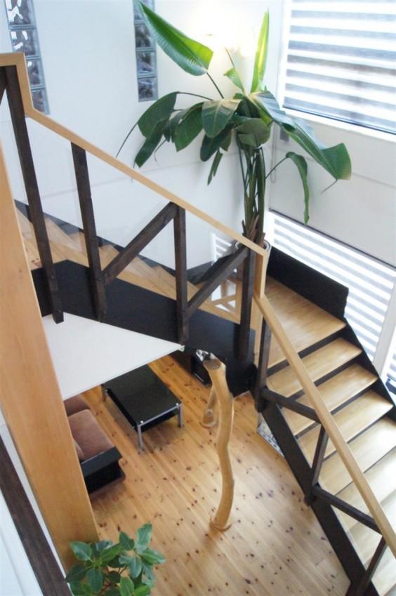ショールーム 階段