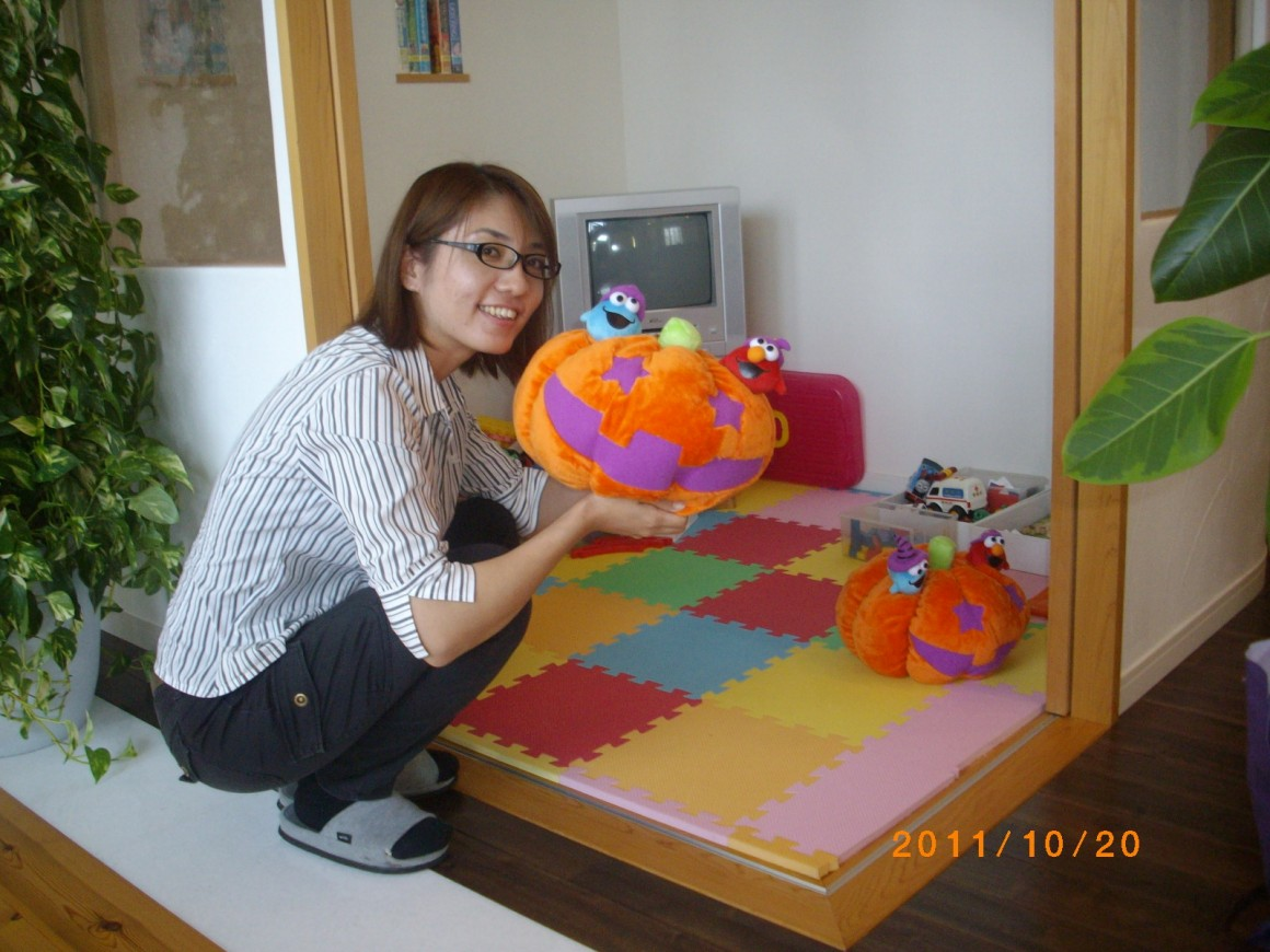 かぼちゃのクッション