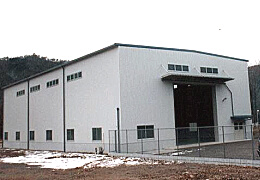 設備機器会社様 工場新築工事 外観