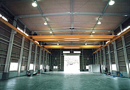 設備機器会社様 工場新築工事 工場内部