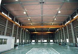 設備機器会社様 工場新築工事 工場内部 2