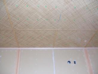 葦の網代天井